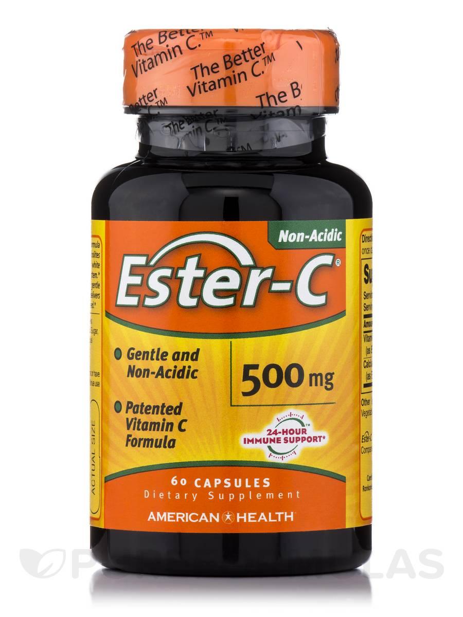 Ester-C® 500 mg - 60 Capsules