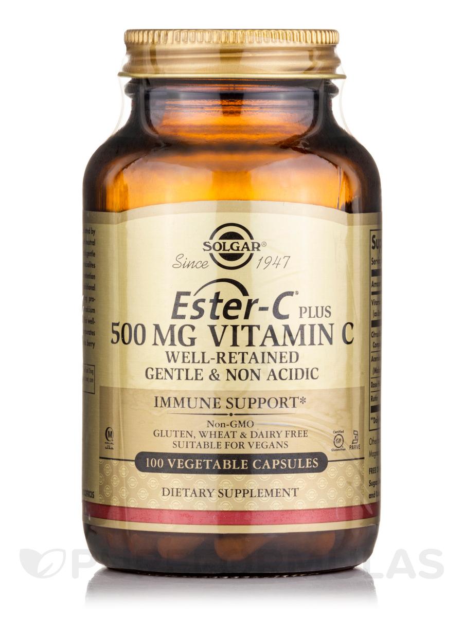 Ester C® Plus Vitamin C 500 mg - 100 Vegetable Capsules