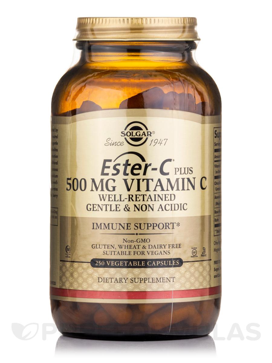 Ester C® Plus Vitamin C 500 mg - 250 Vegetable Capsules
