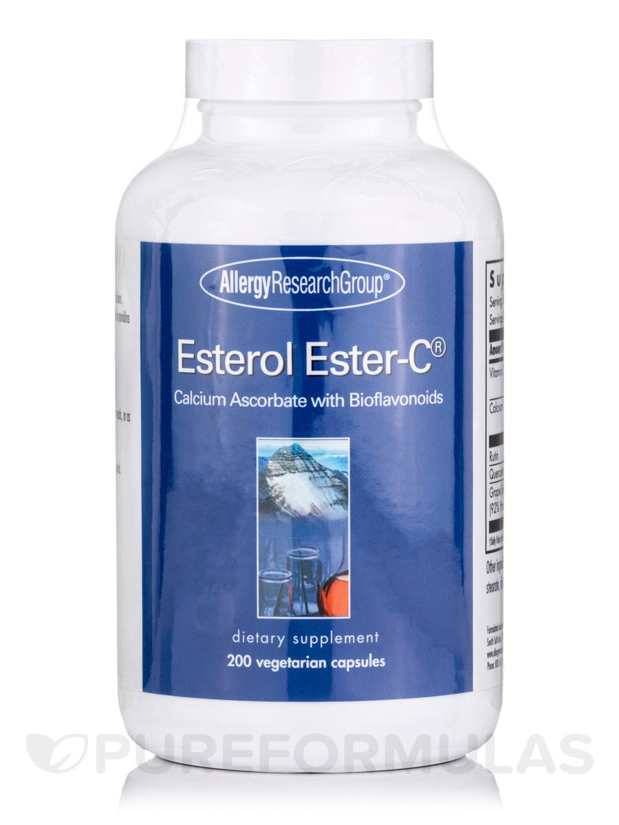 Esterol Ester C Calcium Ascorbate with Bioflavonoids - 200 Vegetarian Capsules