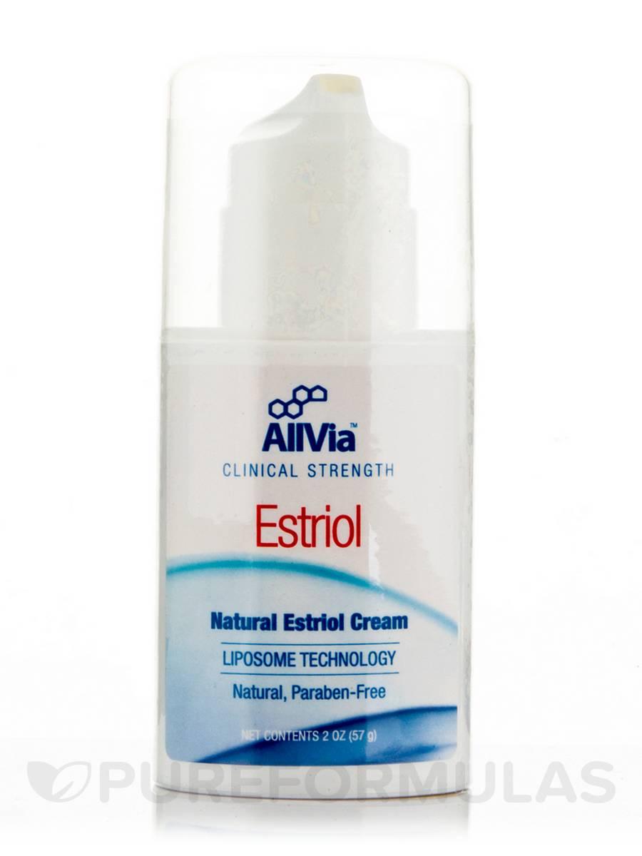 Topical estriol vaginal cream