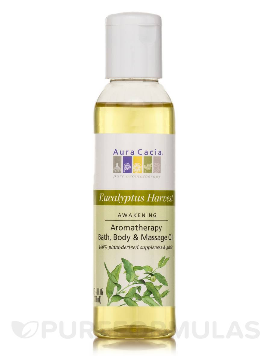 Clearing Eucalyptus Aromatherapy Body Oil - 4 fl. oz (118 ml)