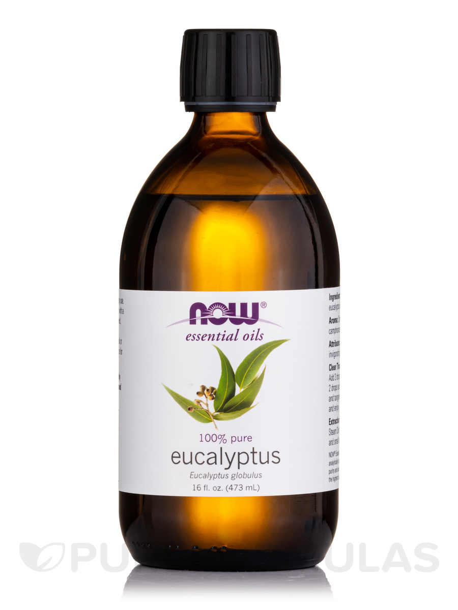 NOW® Essential Oils - Eucalyptus Oil - 16 fl. oz (473 ml)