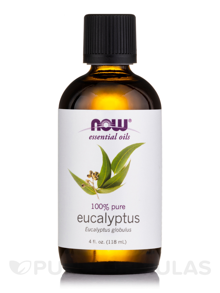 NOW® Essential Oils - Eucalyptus Oil - 4 fl. oz (118 ml)