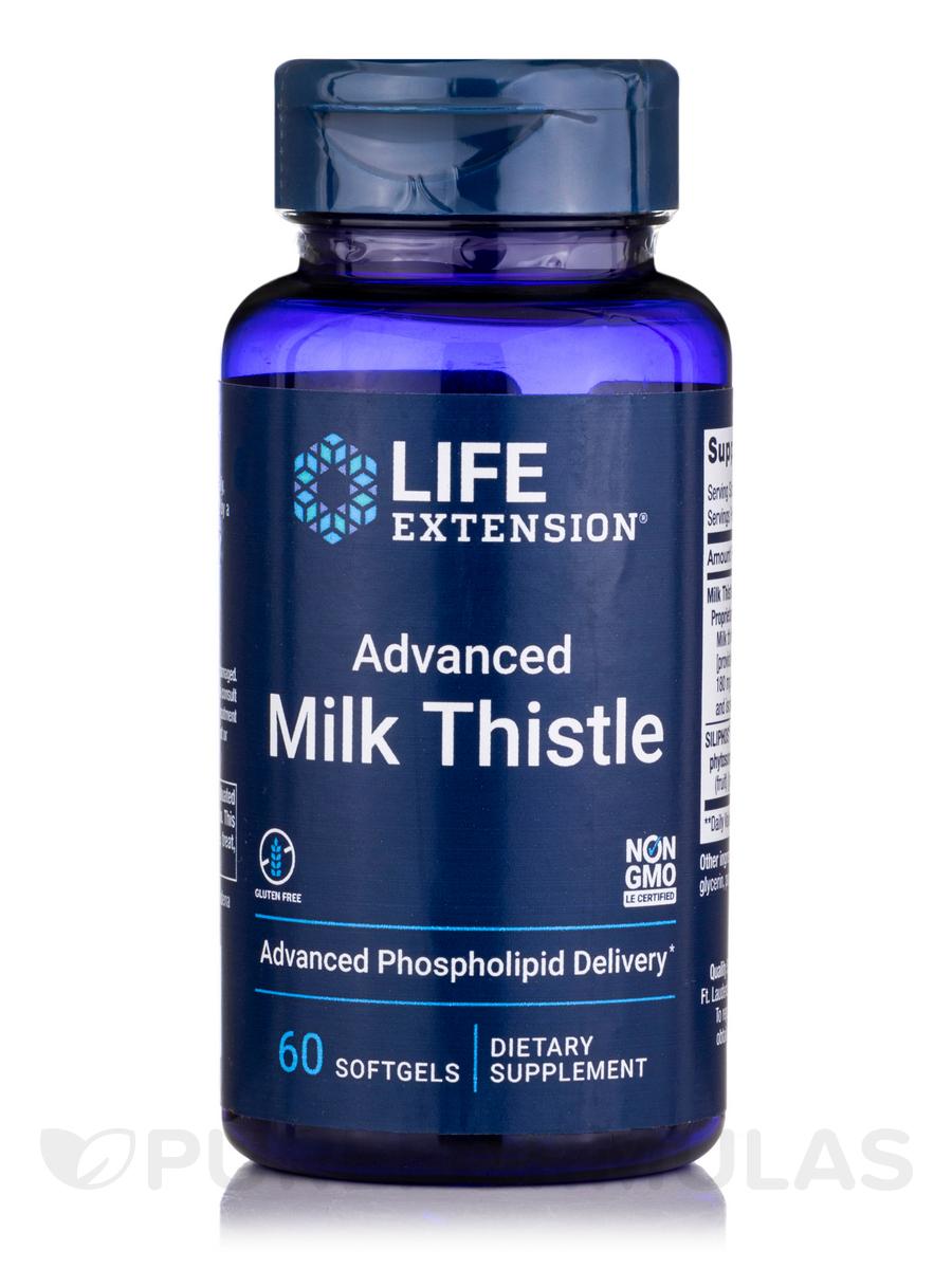 European Milk Thistle - 60 Softgels