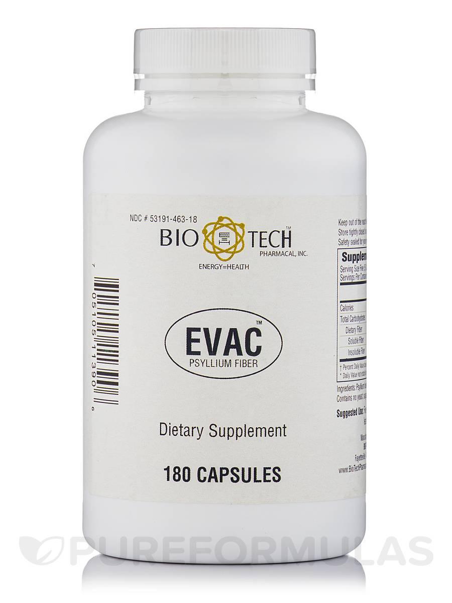 Evac Psyllium Husk - 180 Capsules