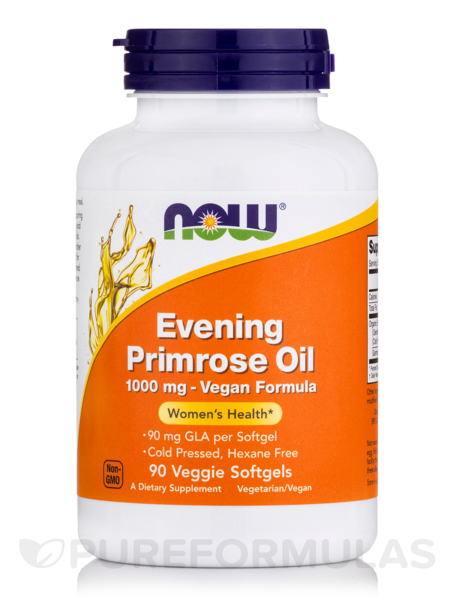 Evening Primrose Oil 1000 mg - 90 Veggie Softgels