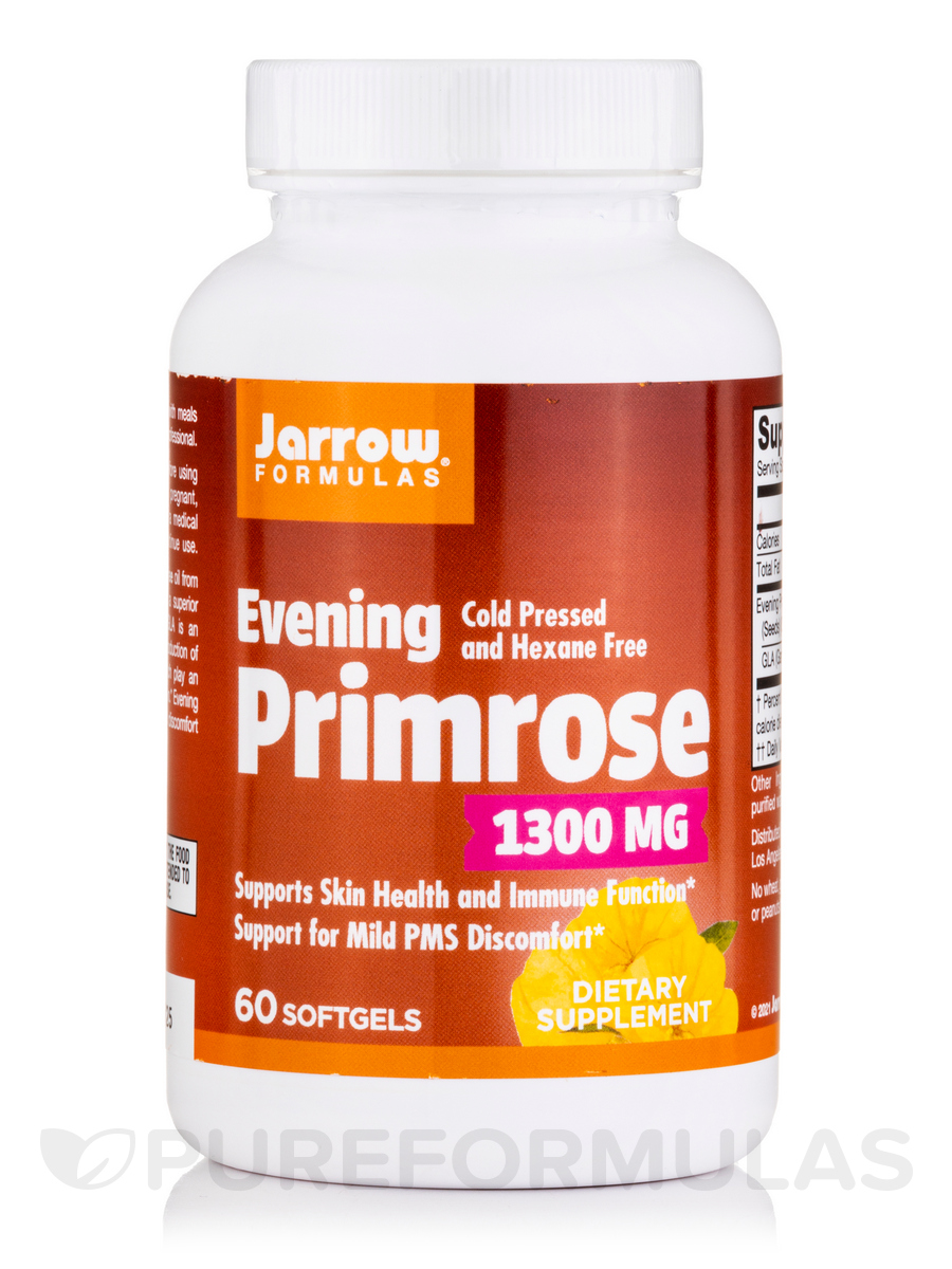 Evening Primrose 1300 mg - 60 Softgels