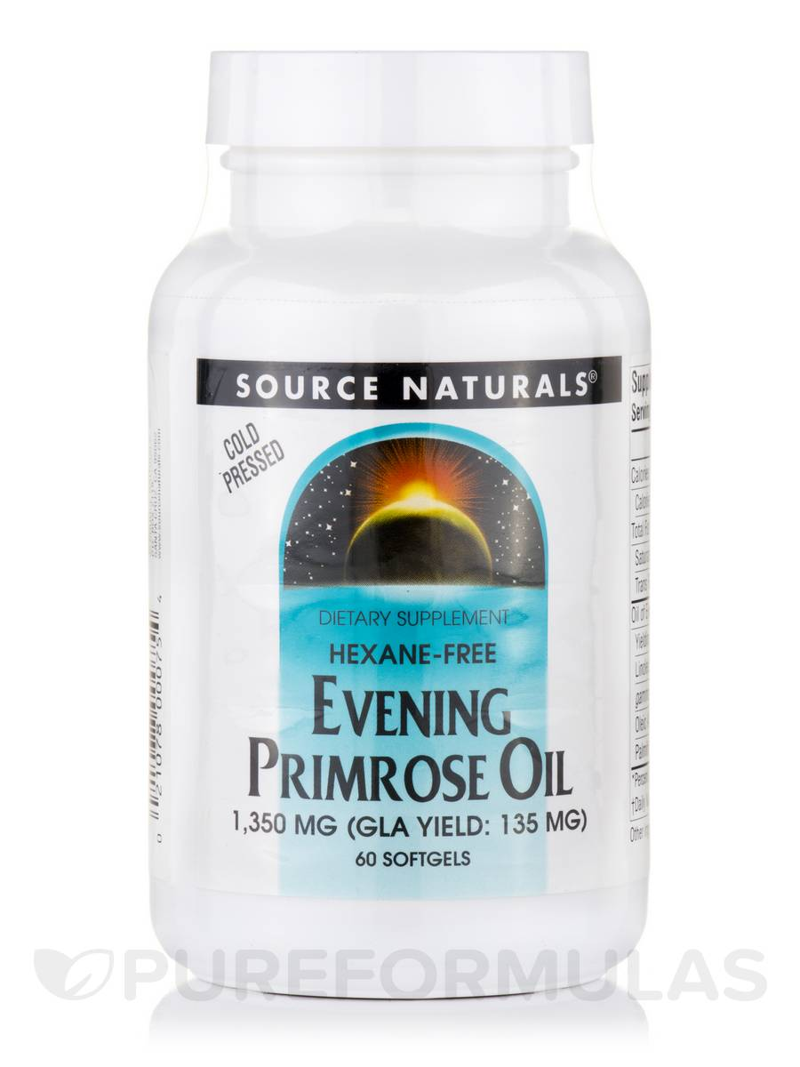 Evening Primrose Oil 1350 mg - 60 Softgels