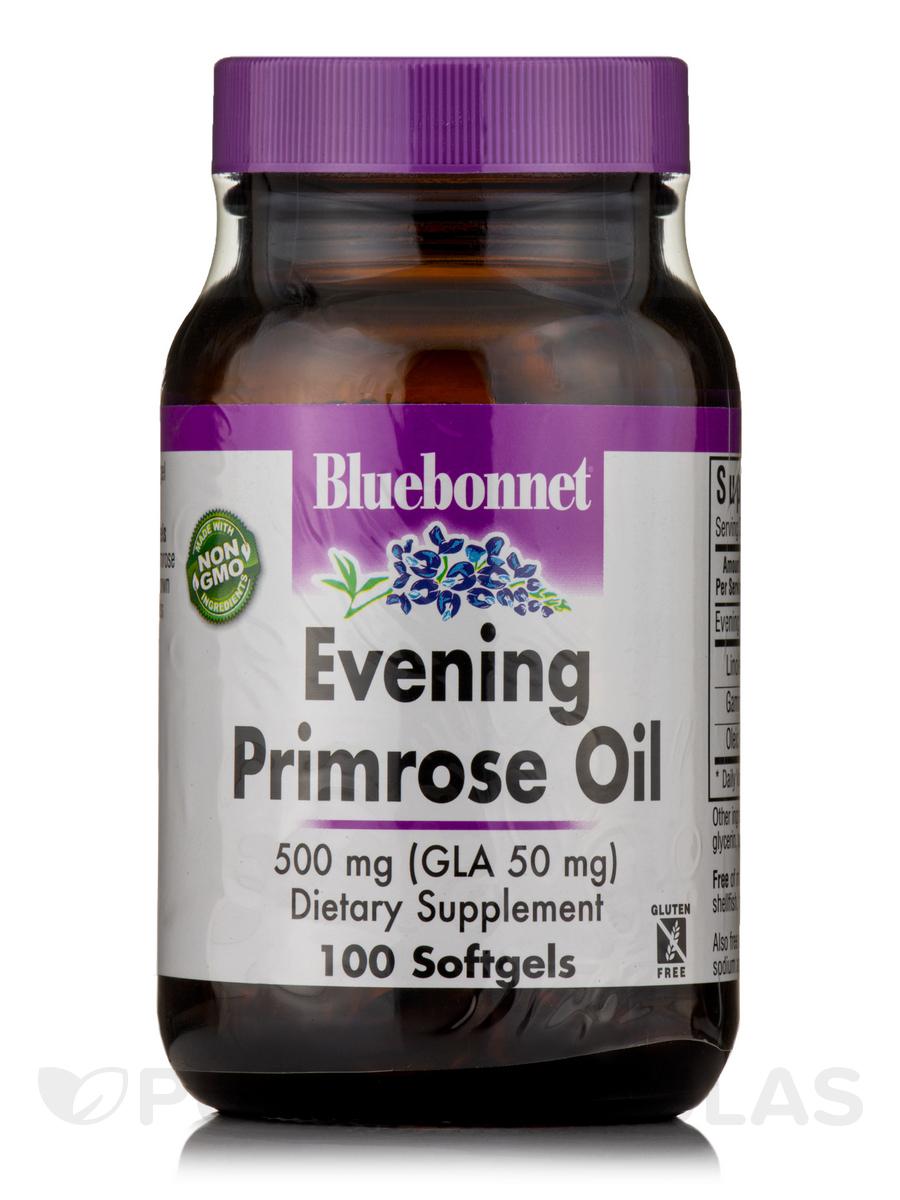 Evening Primrose Oil 500 mg - 100 Softgels