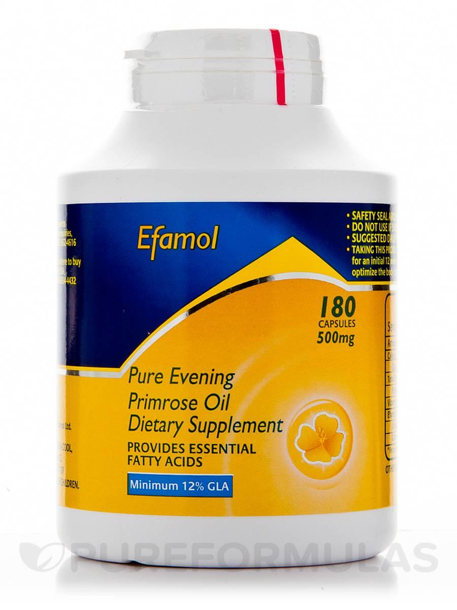 Evening Primrose Oil 500 mg - 180 Capsules