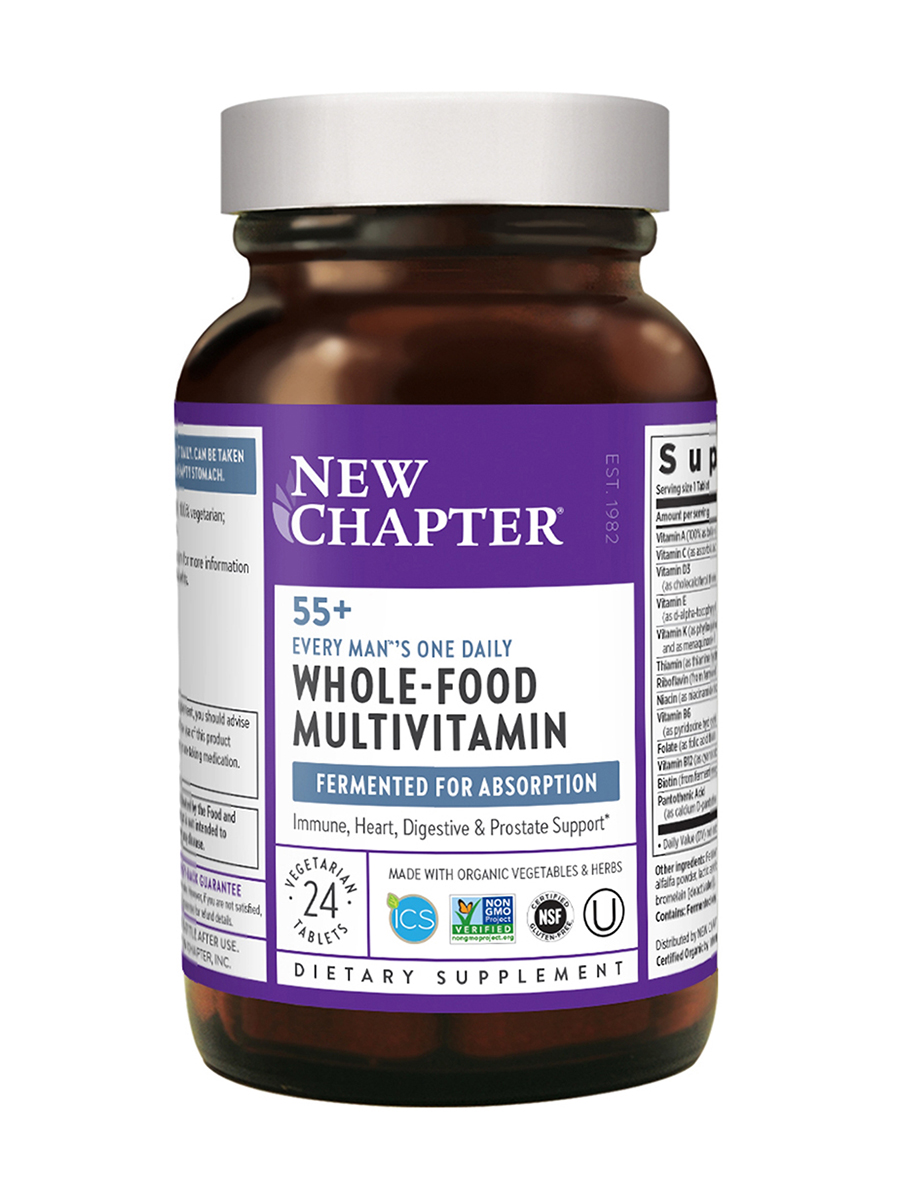 Every Man®'s One Daily 55+ Multivitamin - 24 Vegetarian Tablets