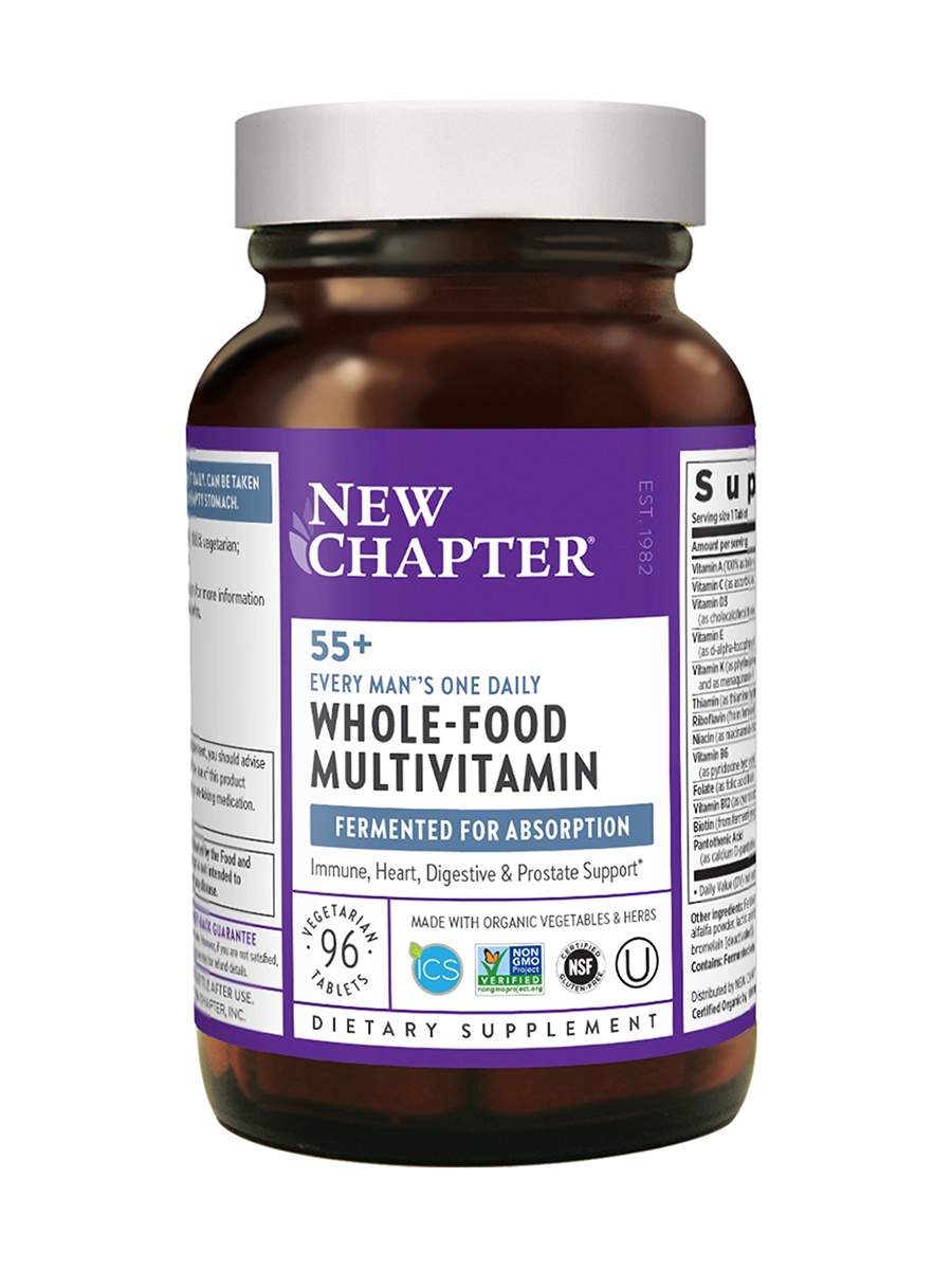 Every Man™'s One Daily 55+ Multivitamin - 96 Tablets