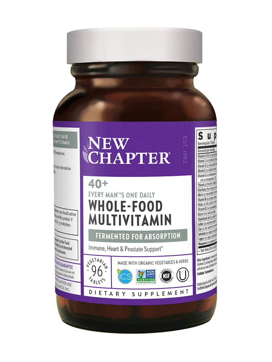 Every Man®'s One Daily Multivitamin 40+ - 96 Tablets