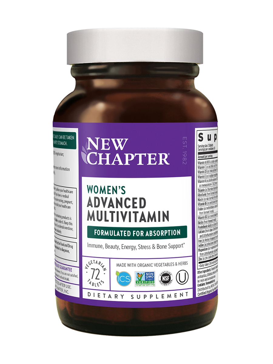 Women's Advanced Multivitamin (formerly Every Woman Multivitamin) - 72 Vegetarian Tablets