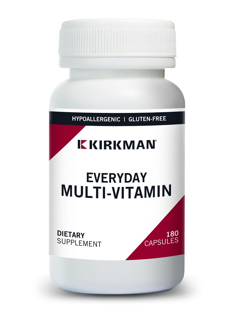 EveryDay Multi-Vitamin -Hypoallergenic - 180 Capsules