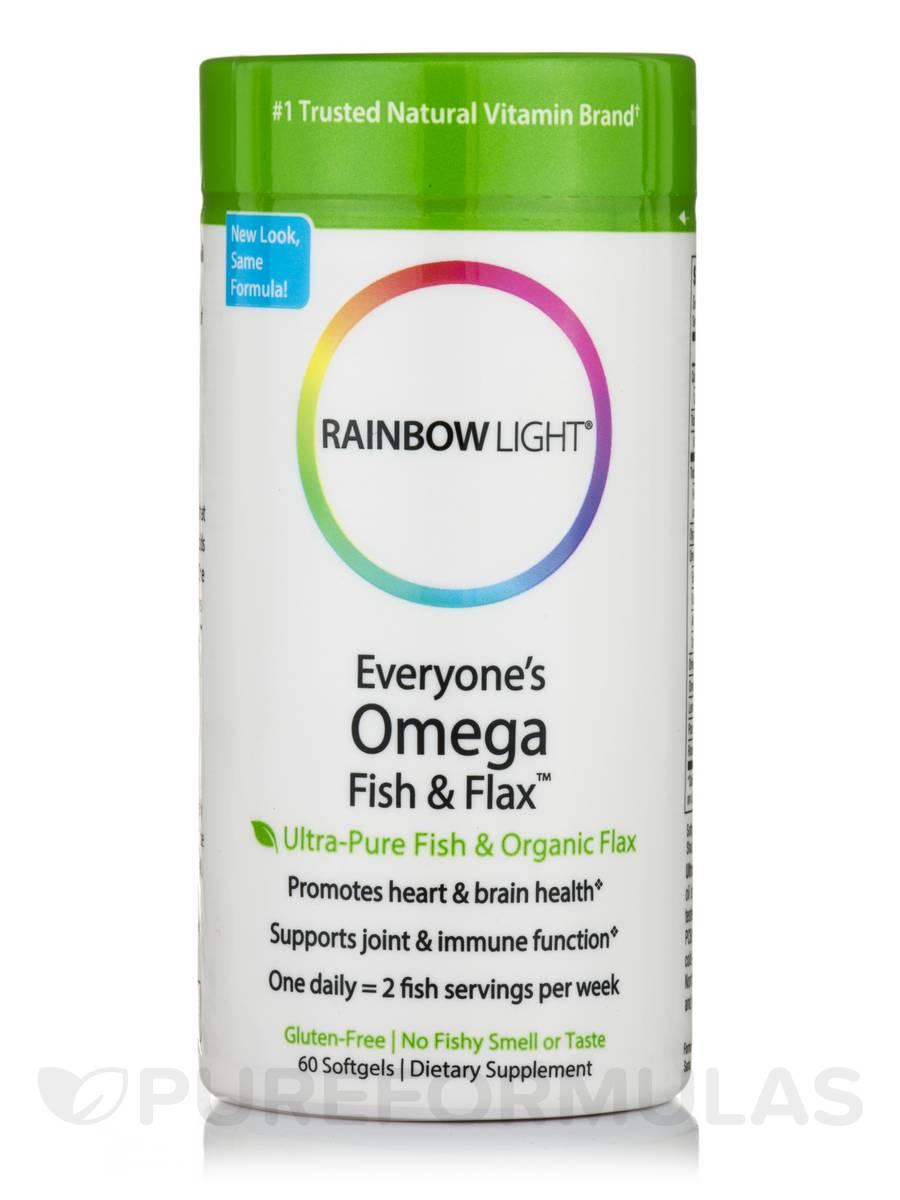 Everyone's Omega™ Fish & Flax Oil - 60 Softgels