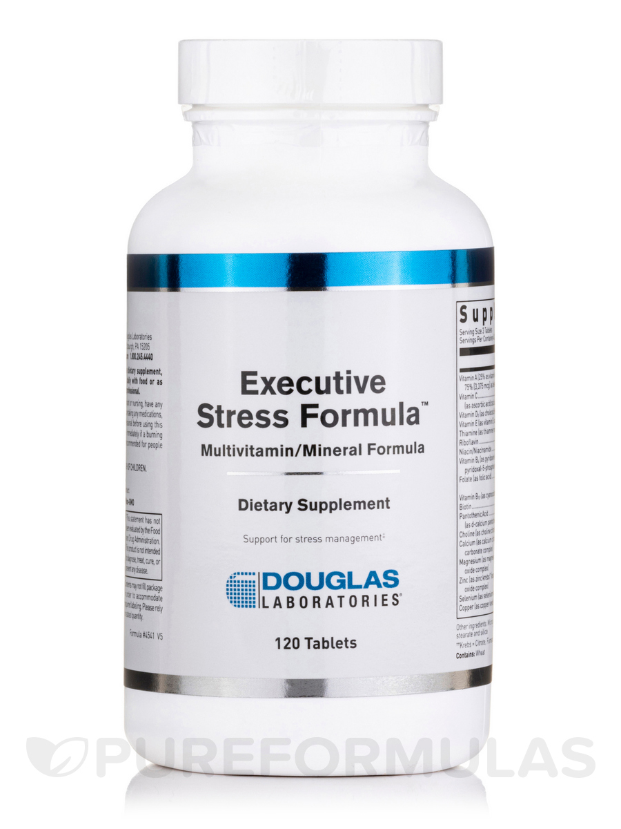 Executive Stress Formula - 120 Tablets