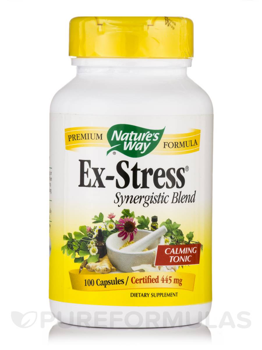 Ex-Stress® Synergistic Blend 445 mg - 100 Capsules