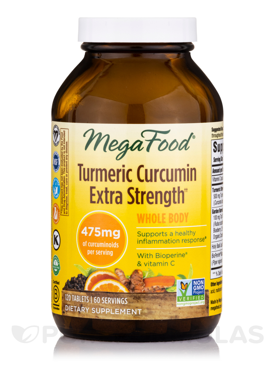 Turmeric Strength™ for Whole Body - 120 Tablets