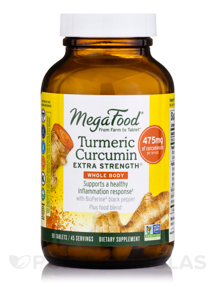 Turmeric Strength™ for Whole Body - 90 Tablets
