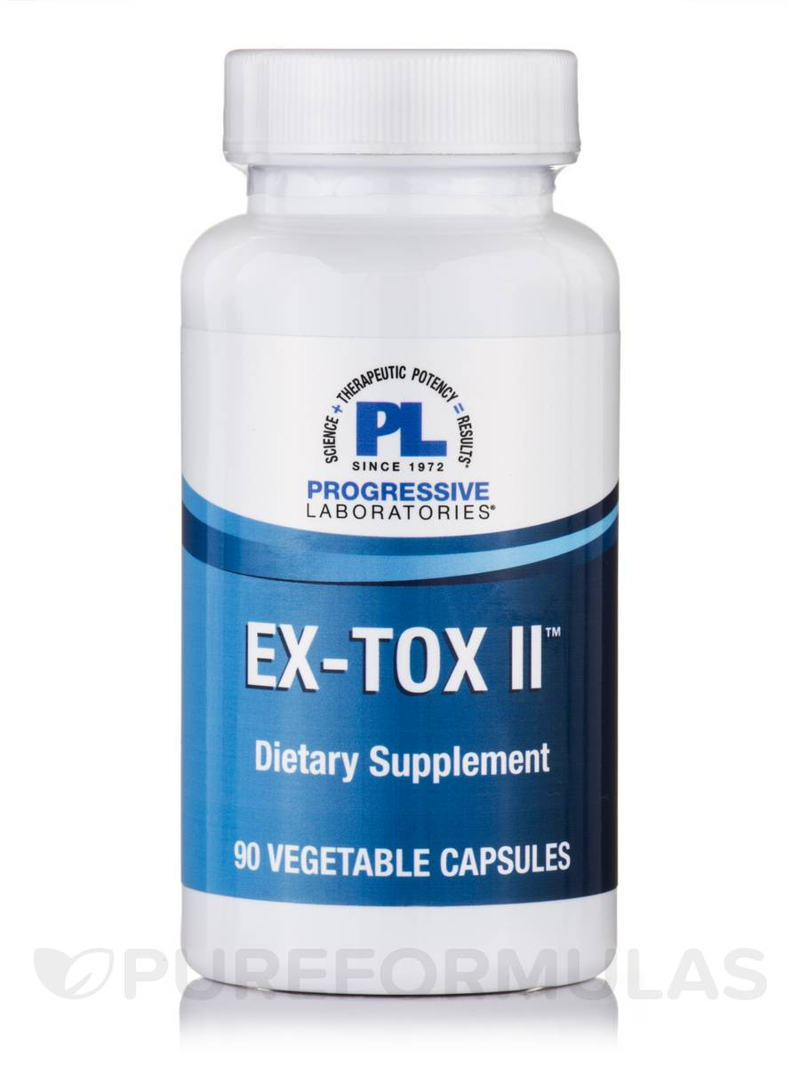Ex-Tox II - 90 Vegetable Capsules