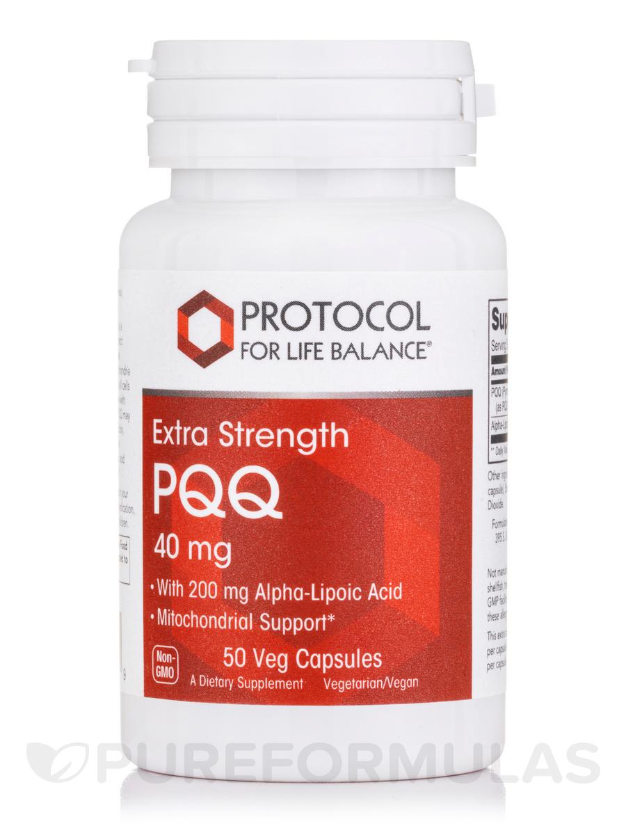 Extra Strength PQQ - 50 Veg Capsules