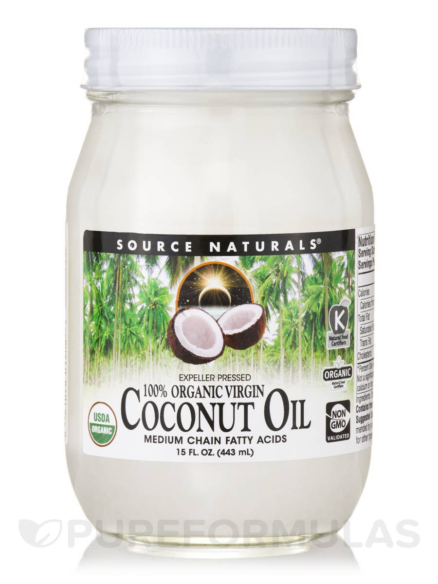 Extra Virgin Coconut Oil - 15 fl. oz (433 ml)