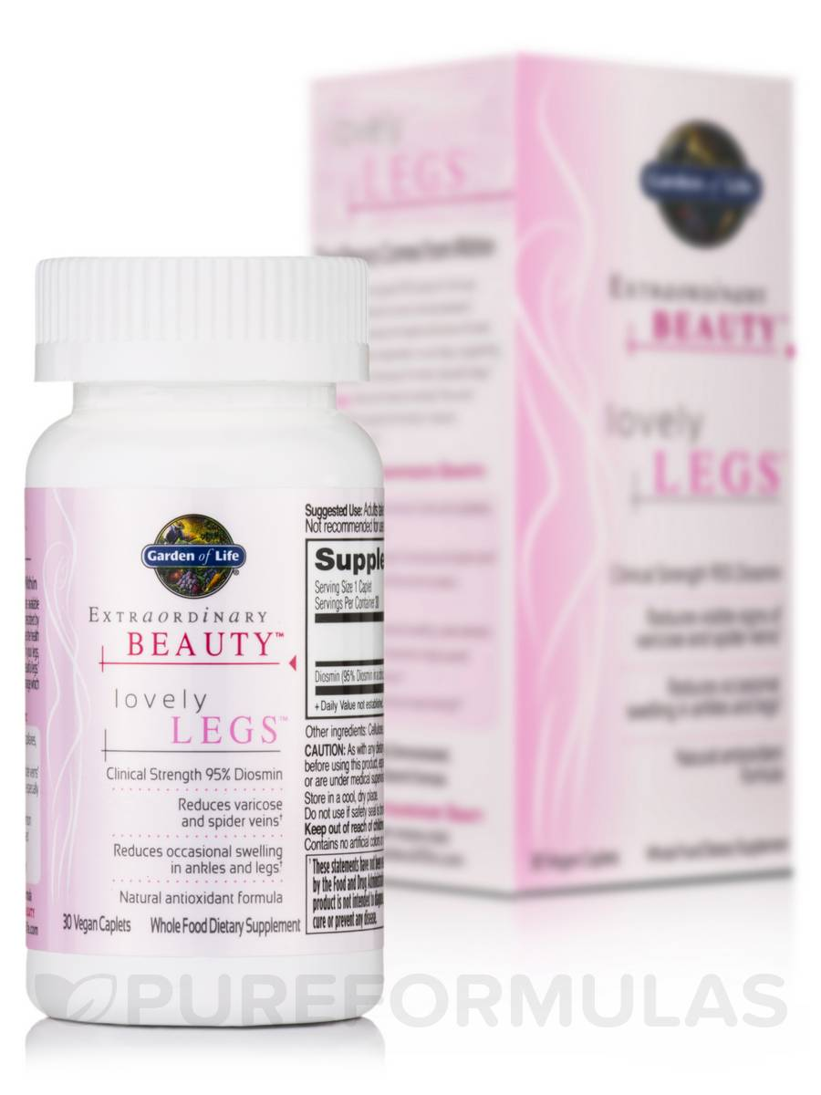 Extraordinary Beauty™ - Lovely Legs™ - 30 Vegan Caplets