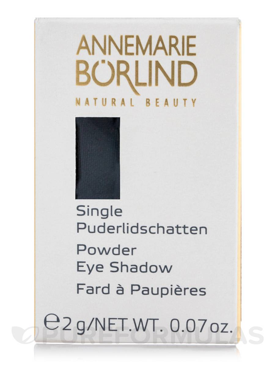 Powder Eye Shadow Single - Black - 0.07 oz (2 Grams)