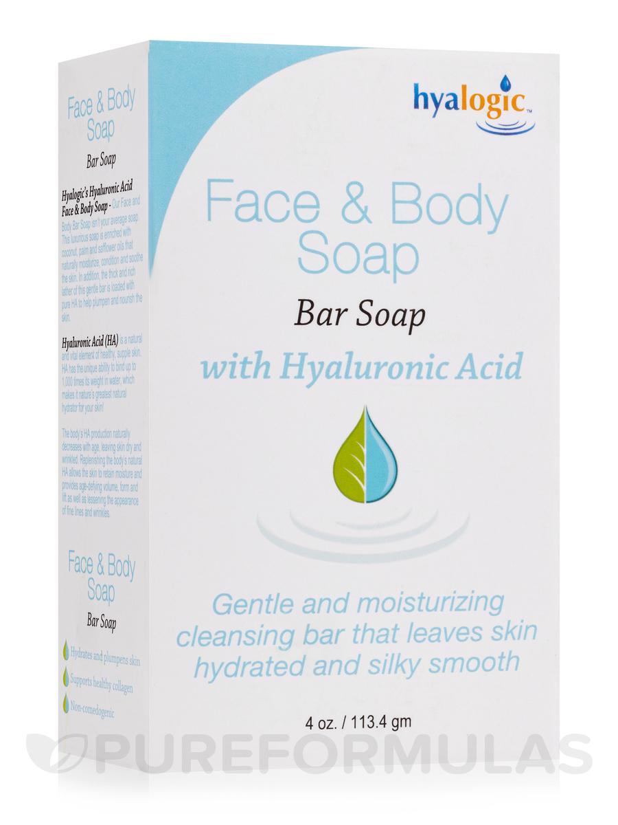 Face & Body Bar Soap - 4 oz (113.4 Grams)