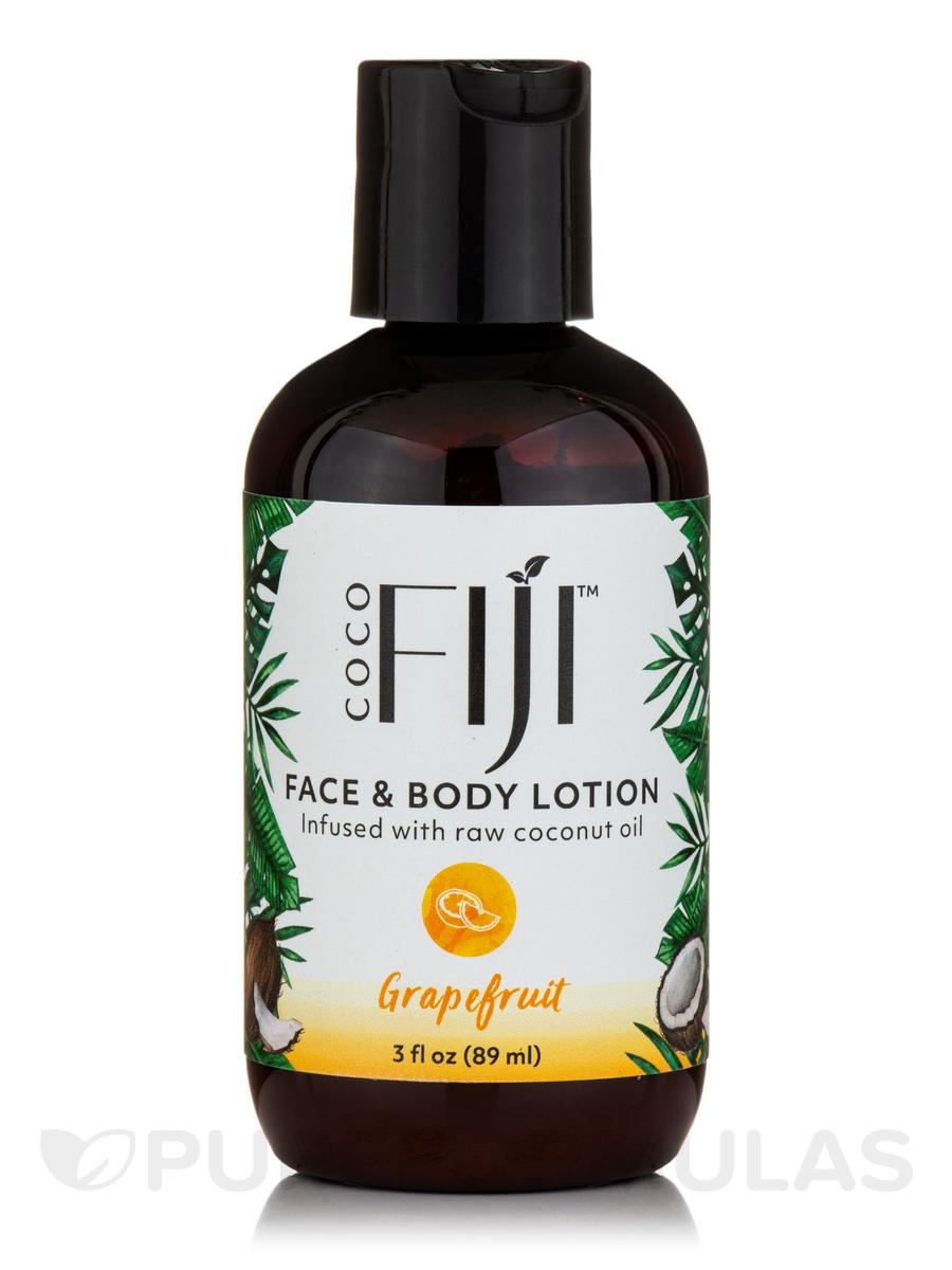 Coco Fiji™ Face & Body Coconut Oil Infused Lotion, Grapefruit - 3 fl. oz (89 ml)