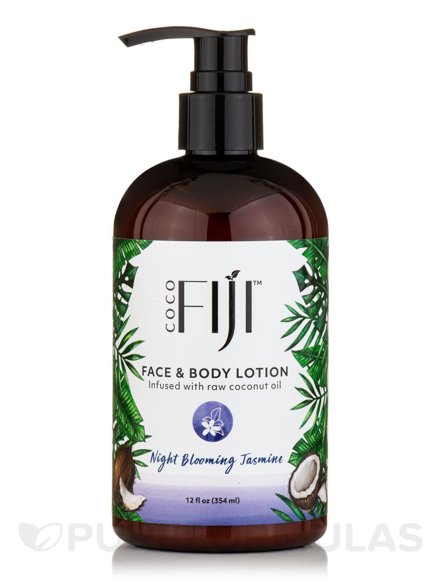 Coco Fiji™ Face & Body Coconut Oil Infused Lotion, Night Blooming Jasmine - 12 fl. oz (354 ml)