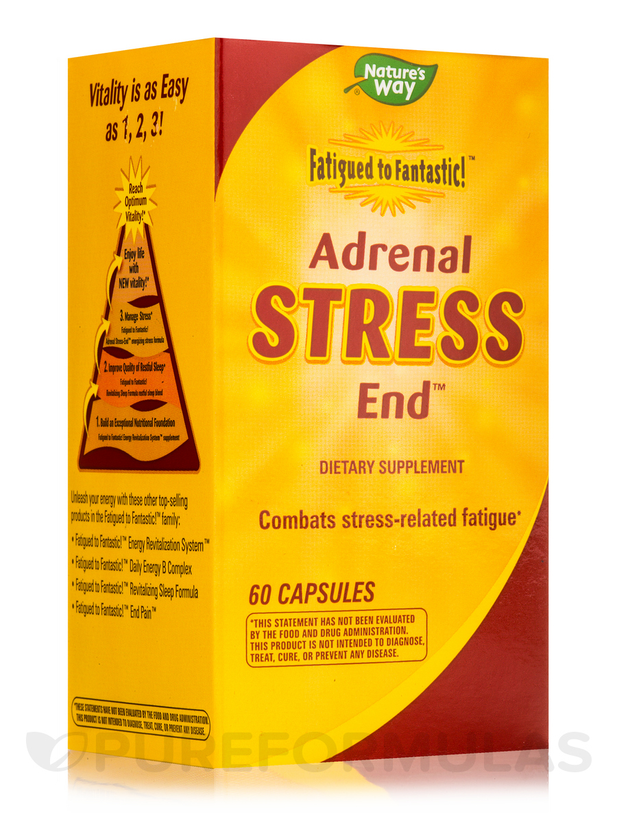 Fatigued to Fantastic!™ Adrenal Stress End™ - 60 Capsules