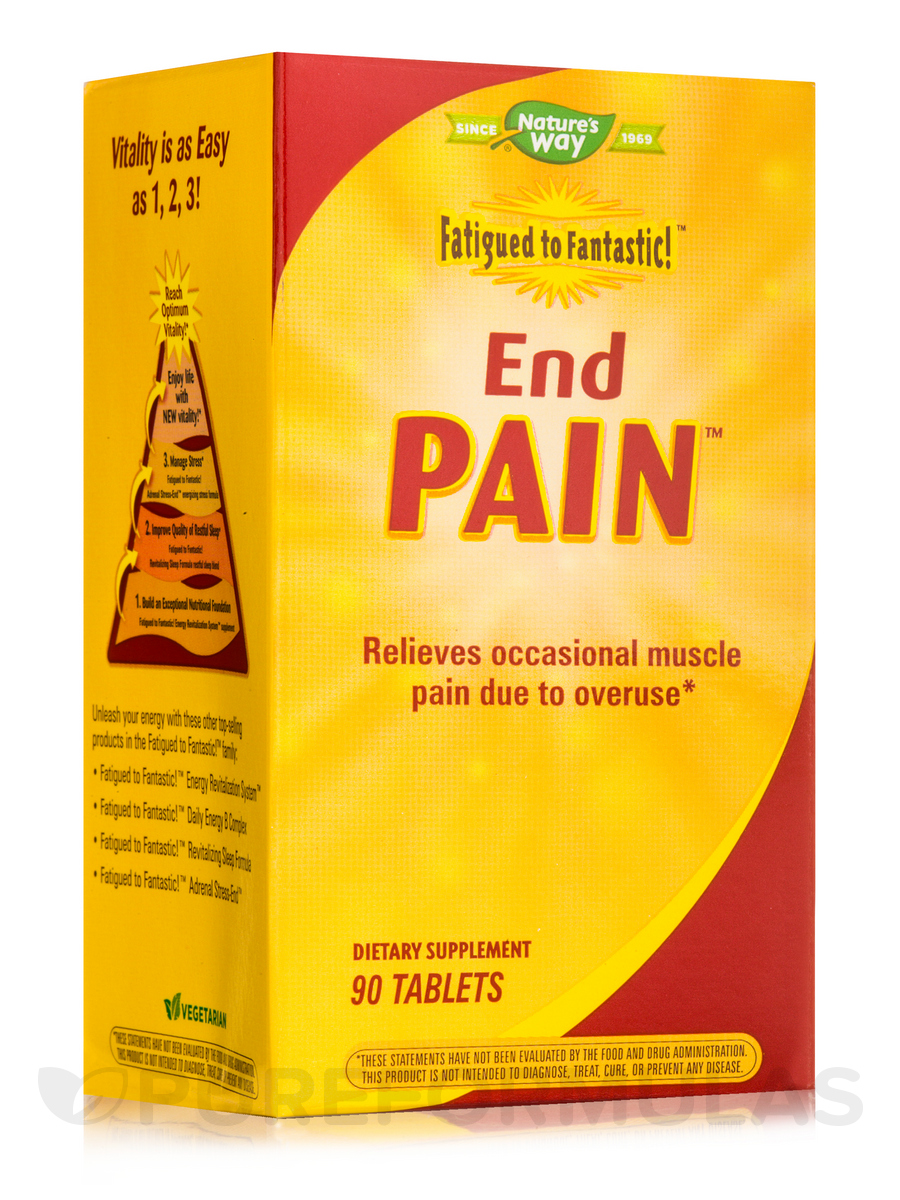 Fatigued to Fantastic! End Pain™ - 90 Tablets