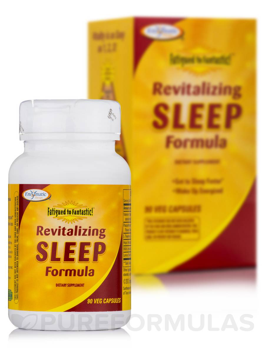 Fatigued to Fantastic! Revitalizing Sleep Formula - 90 Vegetable Capsules