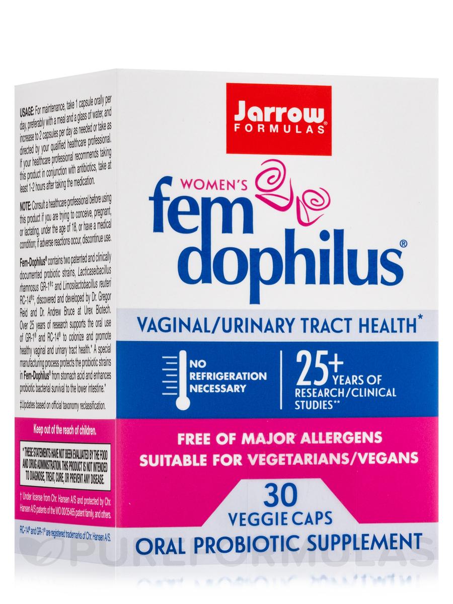 Fem-Dophilus® 1 Billion - 30 Vegetarian Capsules