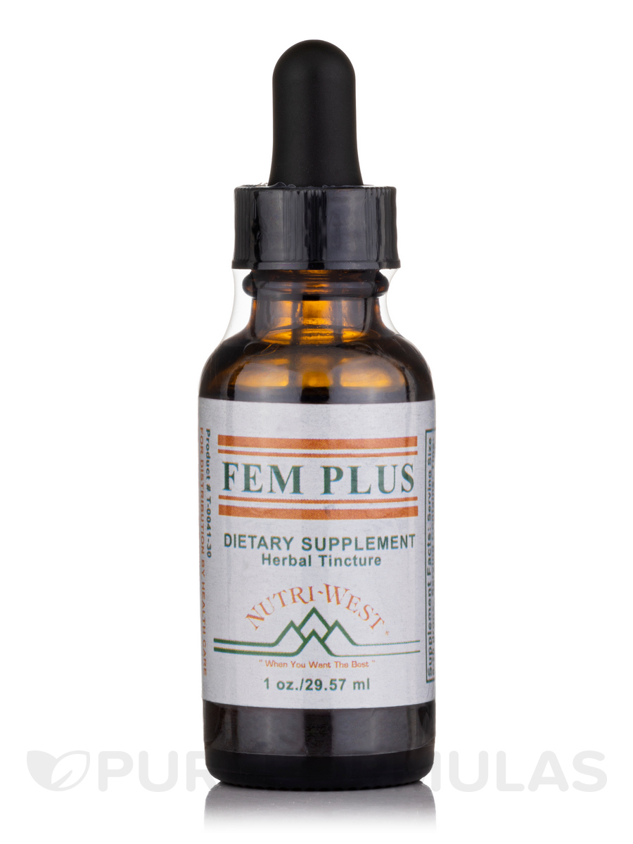 Fem Plus (Herbal Tincture) - 1 oz (29.57 ml)