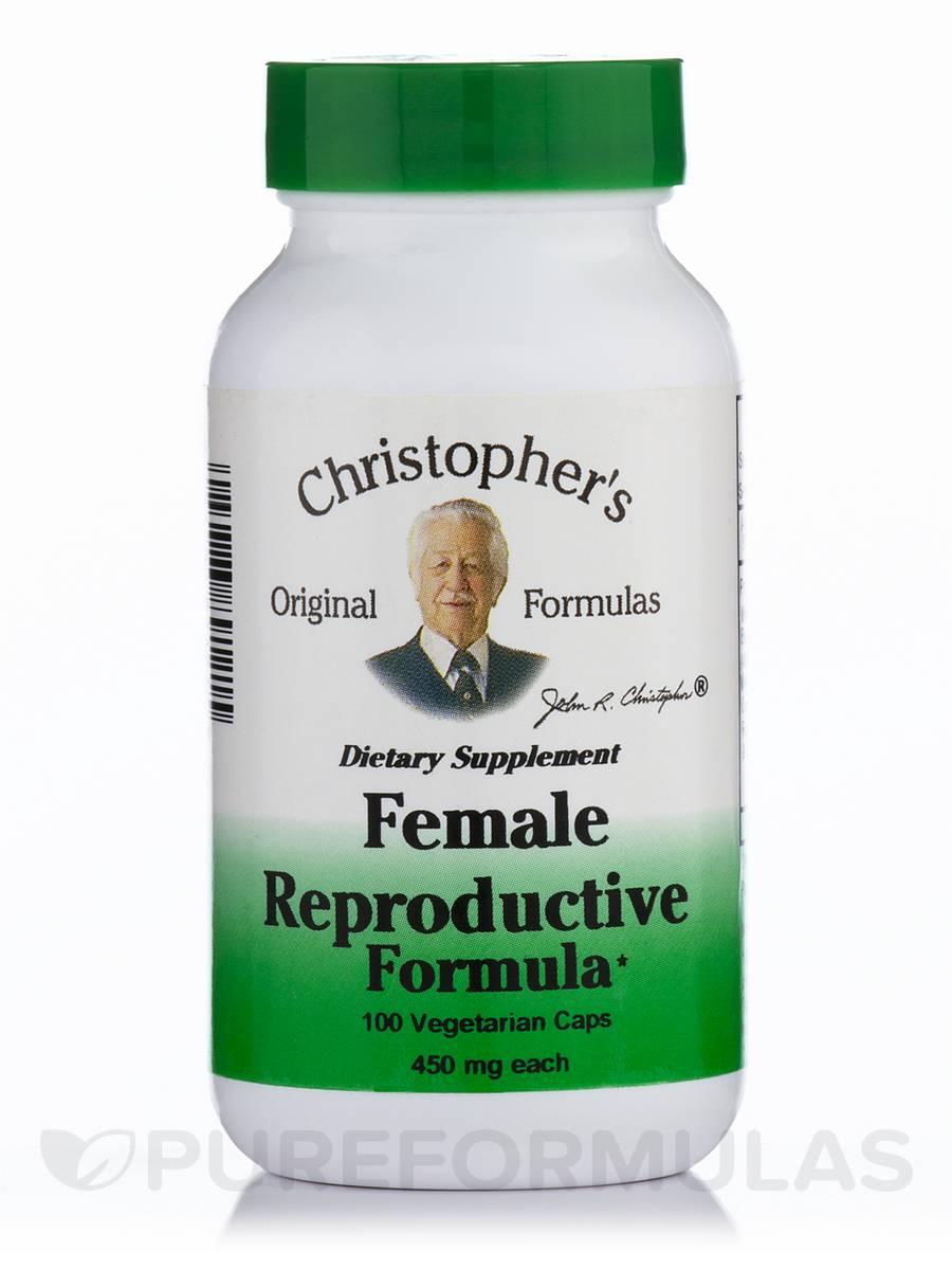 Female Reproductive Formula - 100 Vegetarian Capsules