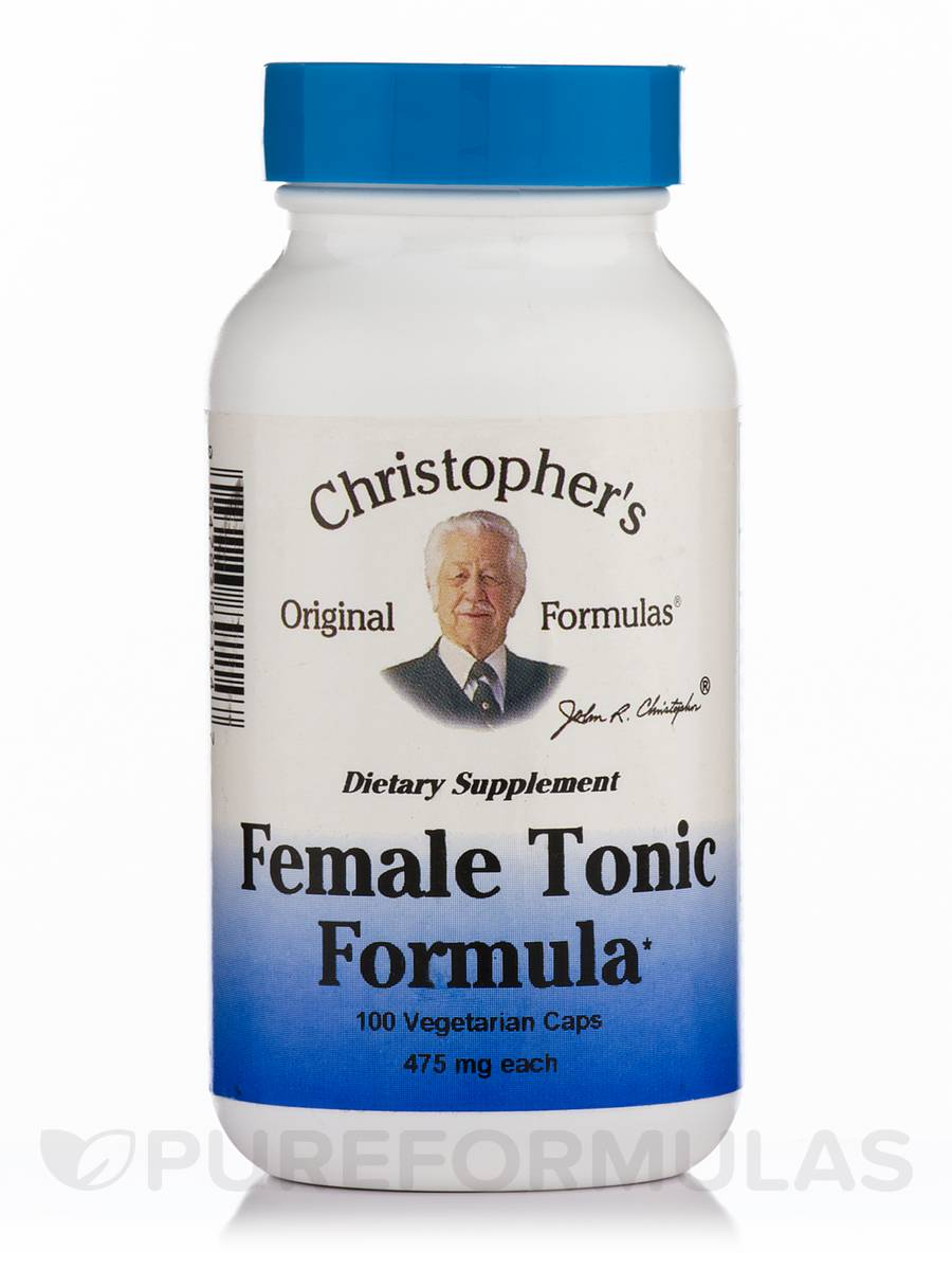 Female Tonic Formula - 100 Vegetarian Capsules