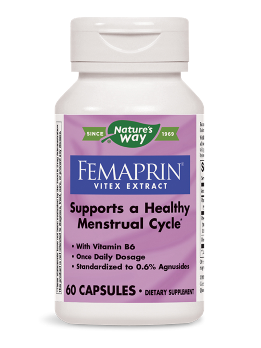 Femaprin Vitex Extract - 60 Capsules