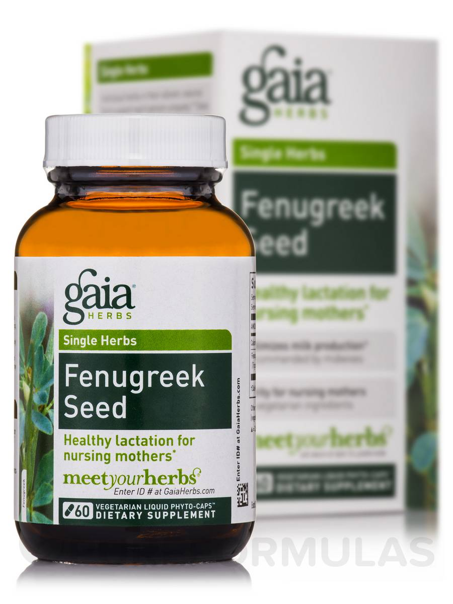 Fenugreek Seed - 60 Vegetarian Liquid Phyto-Caps