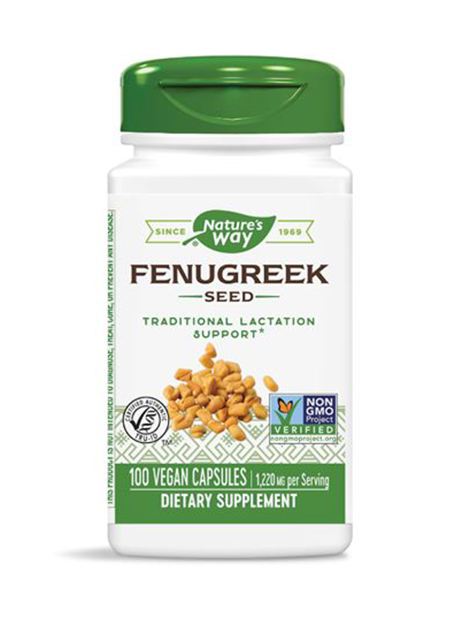 Fenugreek Seed 610 mg - 100 Capsules