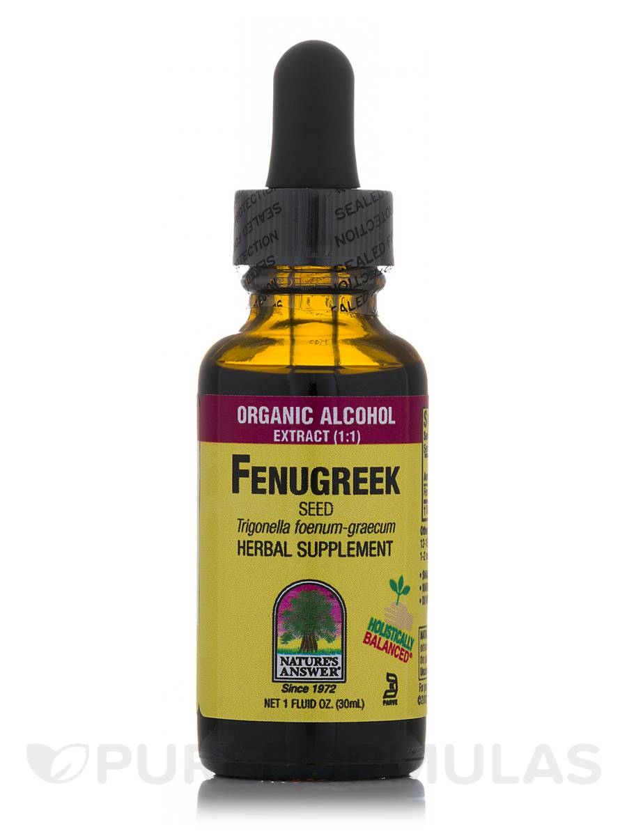 Fenugreek Seed Extract - 1 fl. oz (30 ml)