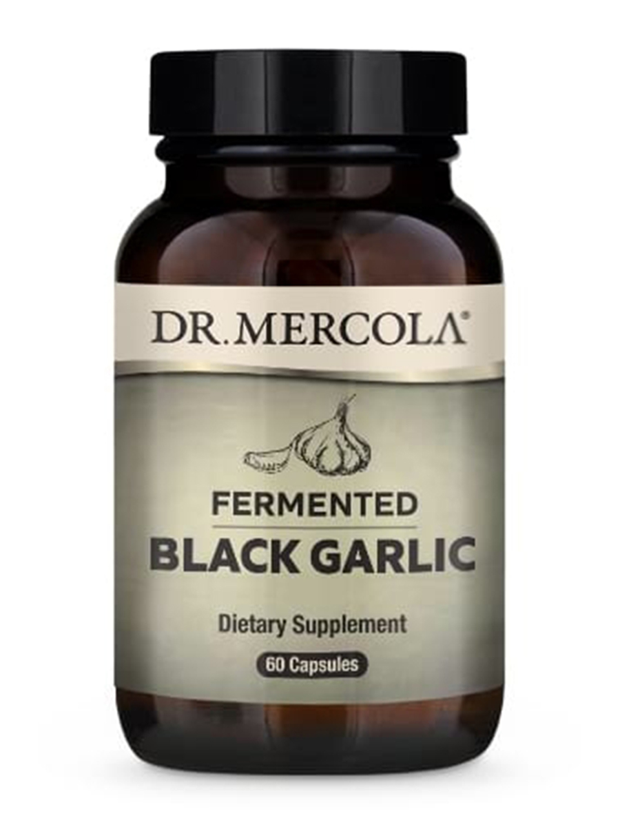 Fermented Black Garlic - 60 Capsules