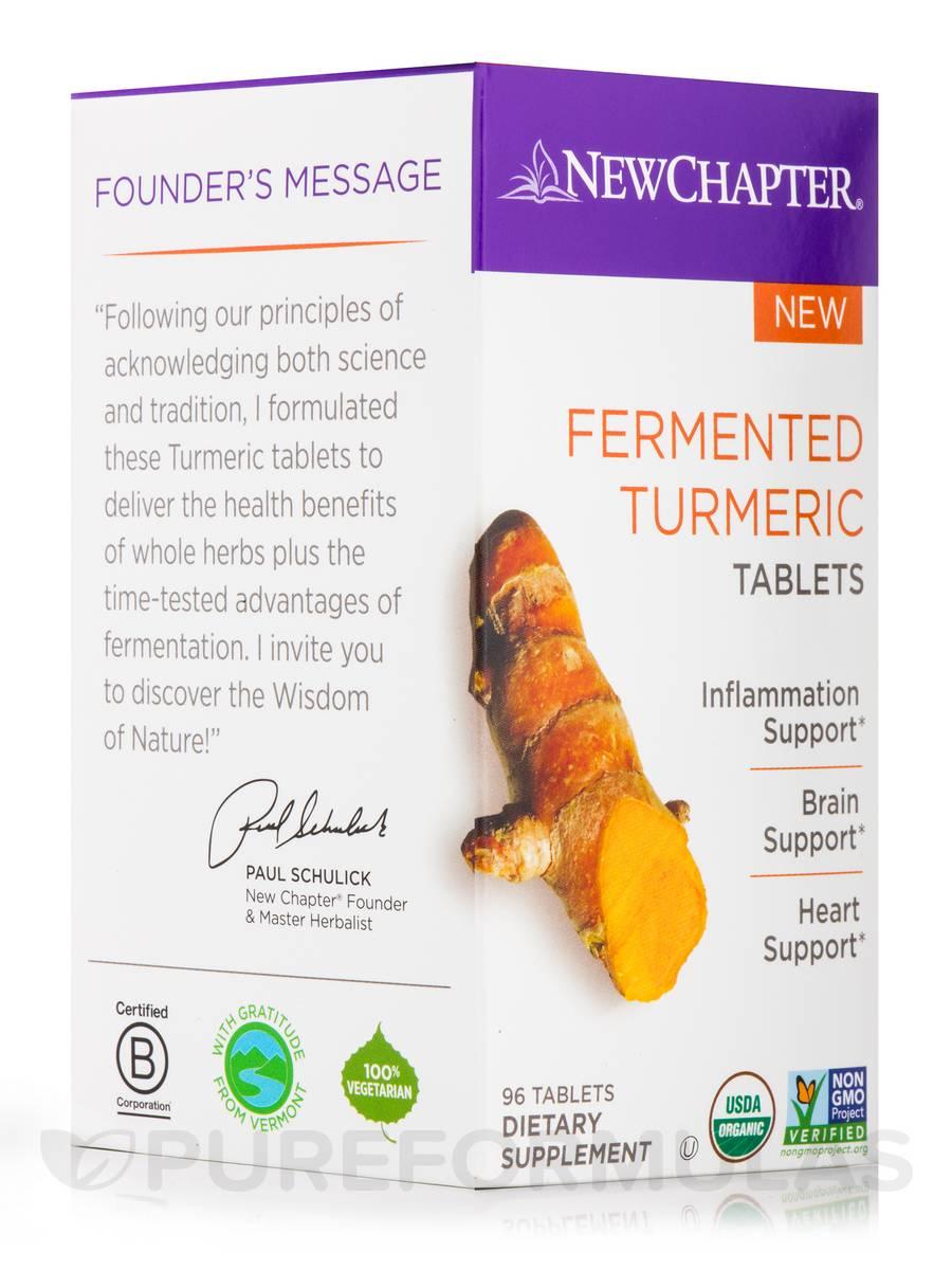 Fermented Turmeric - 96 Tablets
