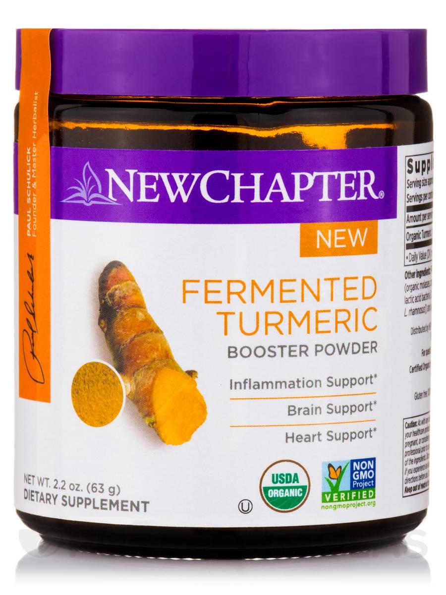 Fermented Turmeric Powder - 2.2 oz (63 Grams)