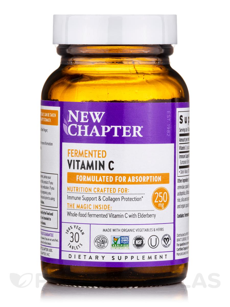 Fermented Vitamin C - 30 Vegan Tablets