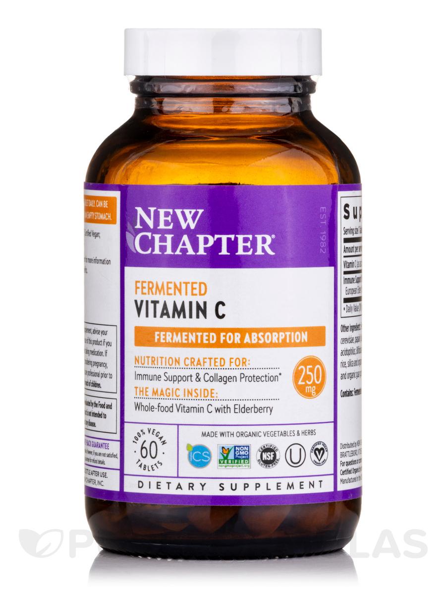 Fermented Vitamin C - 60 Vegan Tablets