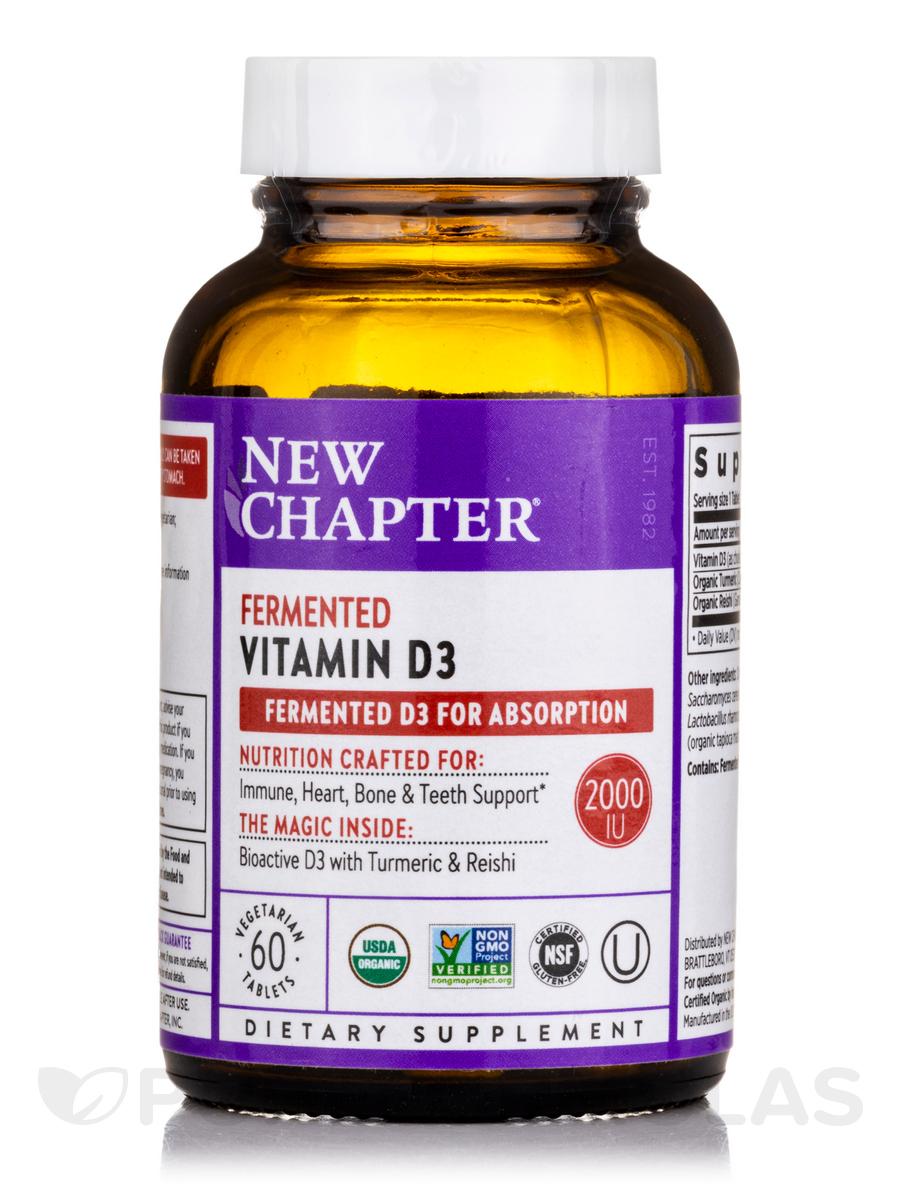 Fermented Vitamin D3 - 60 Vegetarian Tablets